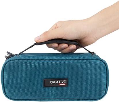 QUAN Usted Estuche para bolígrafos: Bolsa de Almacenamiento de lápiz de Tela Oxford Multifuncional portátil de Gran Capacidad Suministros de Oficina/papelería/bolígrafos (Color : Azul): Amazon.es: Electrónica