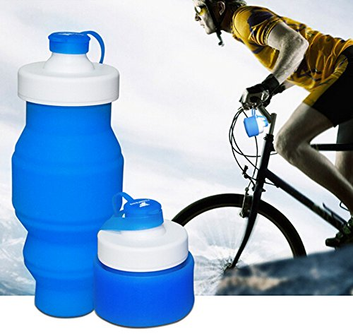 BicycleStore Collapsible Portable Leakproof Bottle BPA