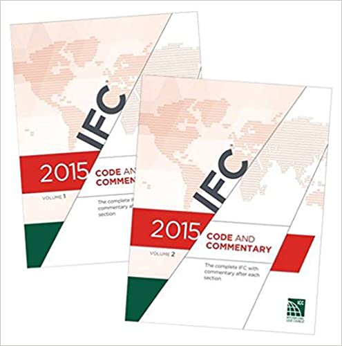 2015 International Fire Code Commentary[2 VOLUME SET] 1st Edition