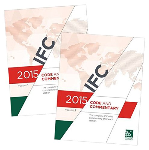 2015 International Fire Code Commentary[2 VOLUME SET] -  International Code Council, Paperback