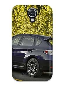 Unique Design Galaxy S4 Durable Tpu Case Cover Subaru Wrx Sti 14