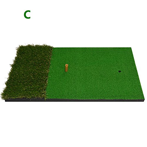 Golf Hitting Mat Golf Putting Mat Swing Practice Mat Blow Mat Exercise Blanket ( Color : 3# ) by AiHerb.LT