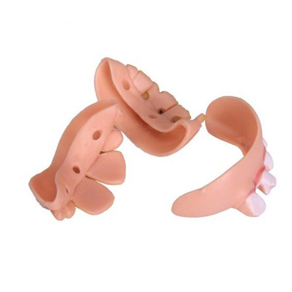 Pixnor 5pcs laid fausses dents Costume Party Gag dr/ôle cadeau forme al/éatoire