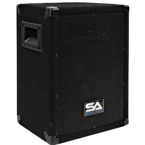 Seismic Audio - 8 Inch PA DJ Pro Audio Band Speaker 75 Watts - Use as a Main or a Monitor - Karaoke by Seismic Audio