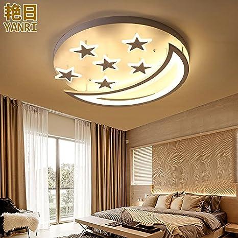 BRFVCS ceiling light Lámpara de techo Star Luna caliente ...