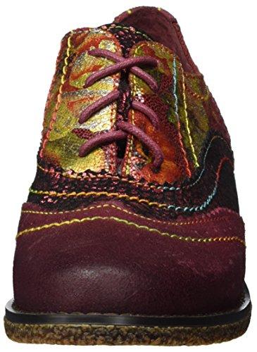 rouge Chaussures À Laura Vita Lacets Coralie Rot Femme 11 C67wUqx8