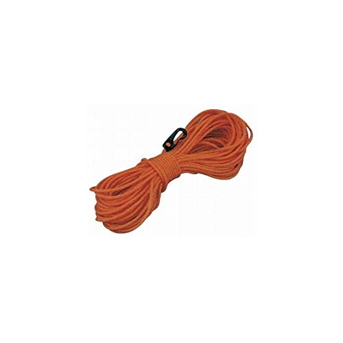 Throw-line with buoy - floating rope with hook ORANGE 30 metres - TREM