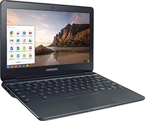 2017 Samsung Chromebook 11.6'' HD LED (1366 x 768) Display, Intel Dual-Core Celeron 1.6GHz Processor, 2GB RAM 16GB eMMC SSD, Bluetooth, WiFi, HDMI, Webcam, Up to 11hrs Battery Life, Chrome OS