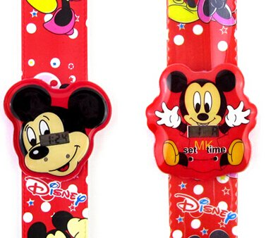 Aircraft LED reloj Digital con diseño de Mickey Mouse: Amazon.es: Relojes