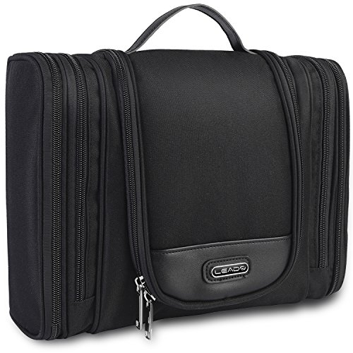 0a6103de3f57 LEADO Hanging Toiletry Bag Large Travel Bag for Men   Women Cosmetic Bag  Makeup Organizer Storage... From LEADO