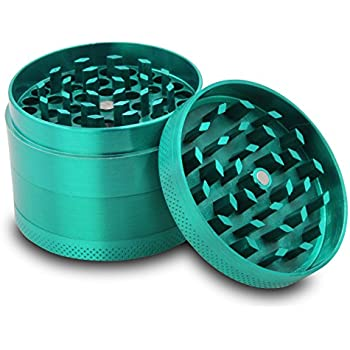 Amazon.com: DCOU New Design Premium Aluminium Herb Grinder - Metal ...