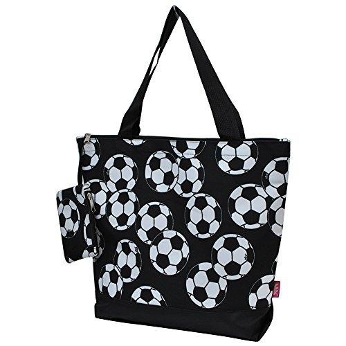 (Soccerball Print NGIL Canvas Tote Bag)