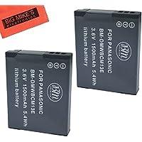 BM Premium Pack of 2 DMW-BCM13E Batteries for Panasonic Lumix DMC-FT5A, DMC-LZ40, DMC-TS5, DMC-TS6, DMC-TZ37, DMC-TZ40, DMC-TZ41, DMC-TZ55, DMC-TZ60, DMC-ZS27, DMC-ZS30, DMC-ZS35, DMC-ZS40, DMC-ZS45, DMC-ZS50 Digital Camera