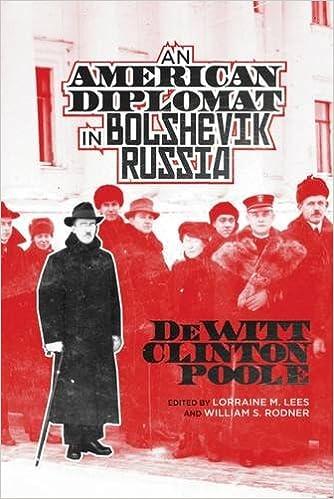 Book An American Diplomat in Bolshevik Russia