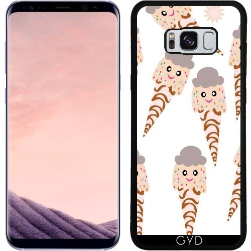 Funda de silicona para Samsung Galaxy S8 Plus (SM-G955) - Patrón De Helados by Luizavictorya72