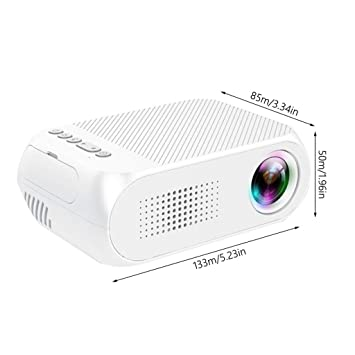 WHLDCD Proyector Mini proyector portátil LED USB Hdmi ...