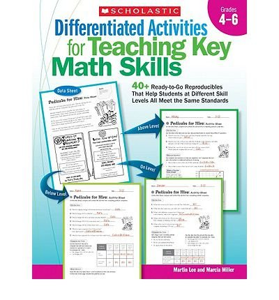 Read Online Differentiated Activities for Teaching Key Math Skills, Grades 4-6: 40+ Ready-To-Go Reproducibles That Help Students at Different Skill Levels All Meet the Same Standards (Paperback) - Common pdf