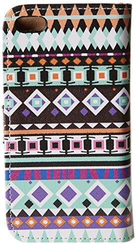 LD Case A000639 Etui folio pour iPhone 5C Motif Tribal V4
