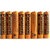 8 Pack Panasonic NiMH AAA Rechargeable Battery for Cordless Phones by Panasonic