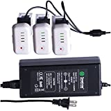 DJI Phantom 2 Battery Charger By Smatree - 3-Channle Charger for DJI Phantom 2, Vision and Plus Quadcopter Drone -Allow to Charge 3 Batteries