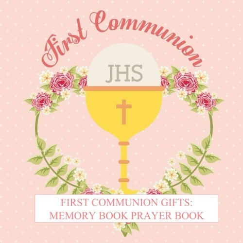 First Communion Gifts: For Girls Memory Book Prayer Book Photo Pages Reception Recorder First Communion Gifts for Girls in all departments First ... Catholic Gifts for Girls in all Departments