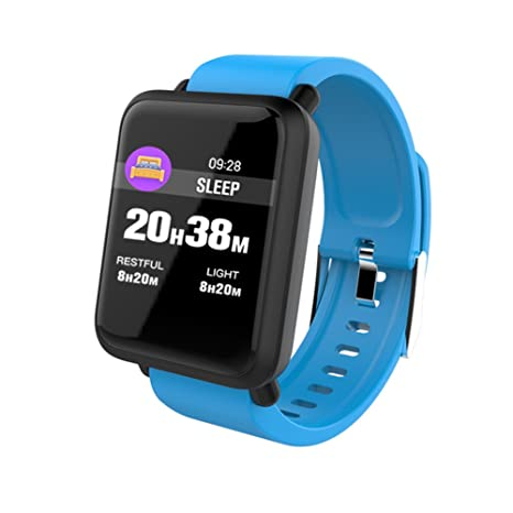 teckey Bluetooth Smart Watch Inteligente Reloj de Pulsera Sport Fitness Tracker Pulsera para Android iPhone iOS