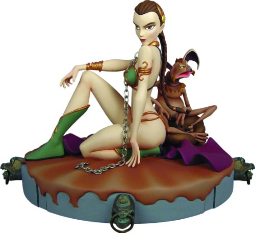 (Gentle Giant Star Wars: Animated Slave Leia Maquette)