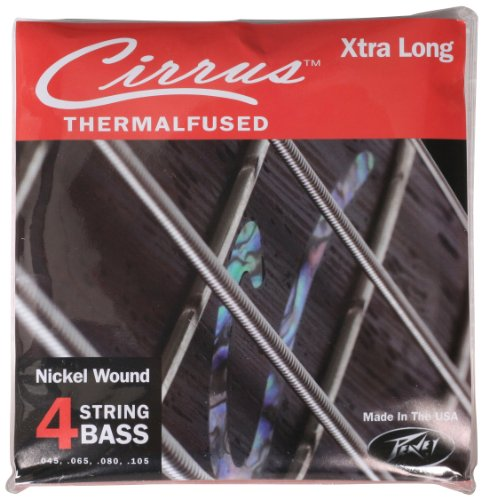 Peavey Electronics - Peavey Cirrus 4 String Extra Long Electric Bass Guitar Strings