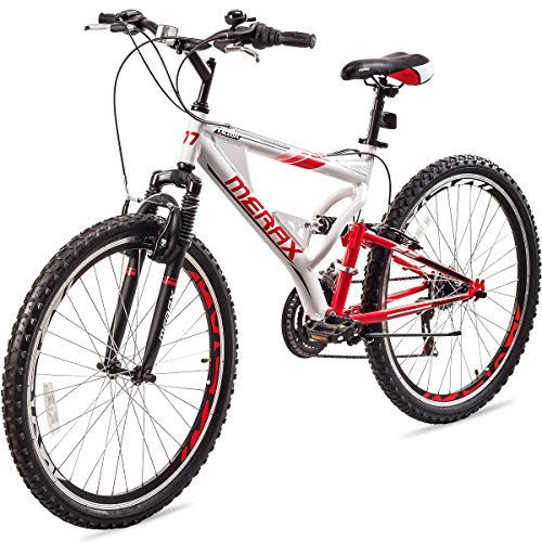 Merax Falcon Full Suspension Mountain Bike Aluminum Frame 21