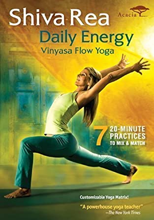Amazon.com: Shiva Rea: Daily Energy - Vinyasa Flow Yoga by ...