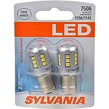 SYLVANIA 7506 White LED Bulb, (Contains 2 Bulbs)