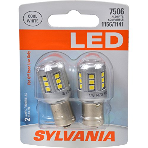 1984 Saab 900 Brake (SYLVANIA 7506 White LED Bulb, (Contains 2 Bulbs))
