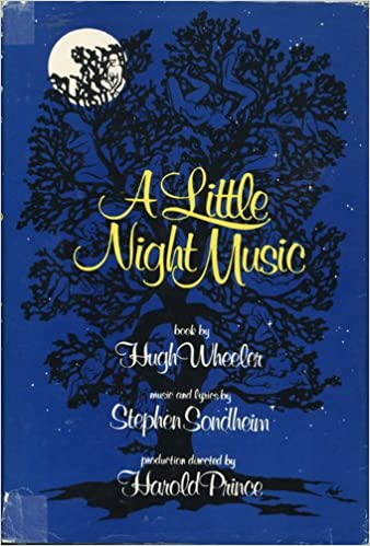 a little night music a new musical comedy