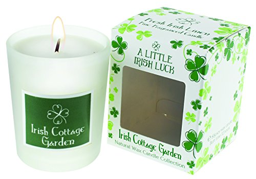 Carrolls Irish Gifts Cottage Garden Scented Candle (Garden Cottage Candle)