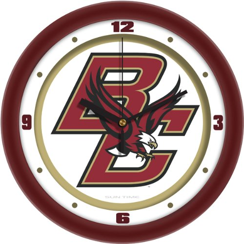 SunTime NCAA Boston College Eagles Traditional Wall Clock