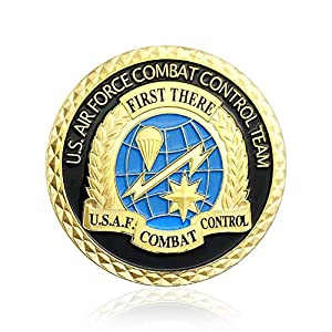 U.S. Proud Military Family Challenge Coin Veteran Army Navy Air Force Marine Corps Coast Guard Armed Forces Collection Item from Jia Ying Xin
