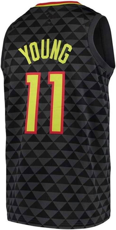 NBA Camiseta De Baloncesto para Hombre, Trae Young # 11 NBA ...
