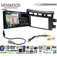 Volunteer Audio Kenwood Excelon DNX994S Double Din Radio Install Kit with GPS Navigation Apple CarPlay Android Auto Fits 2007-2009 Kia Amanti