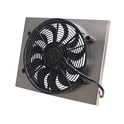 Derale 16822 High Output Single Radiator Fan: Automotive
