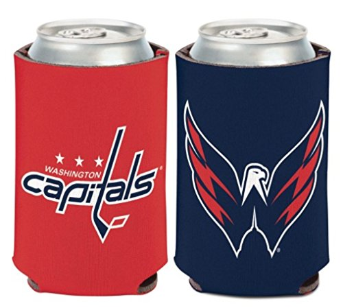 fan products of NHL Washington Capitals 12 oz. 2-Sided Can Cooler