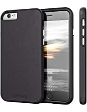 iPhone 6S Case, iPhone 6 Case, Crave Dual Guard Protection Series Case for iPhone 6 6s (4.7 Inch) - Black