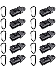 Tarp Clips Kit Heavy Duty Lock Grip Thumb Screw Camp Tent Clamp Clips for Outdoor Camping Caravan Canopies Awnings Car Covers Swimming Pool Covers etc