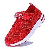Vivay Kids Girls Tennis Shoes Boys Summer Running Sneakers for Little Kid/Big Kid (3 M US Little Kid/3# Red)