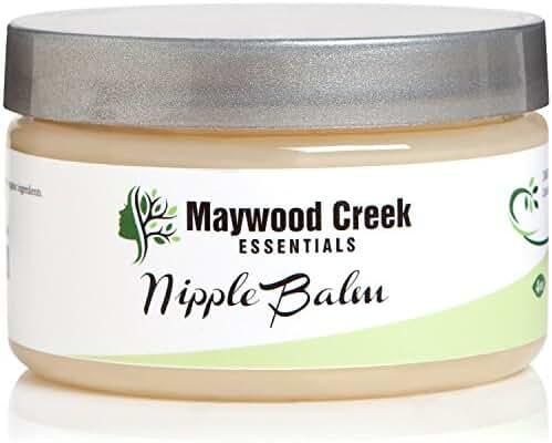 BEST NIPPLE BALM - Soothing Cream for Irritated Nipples - LARGE 4 OZ - Safe for Breastfeeding & Nursing Moms - Natural & Organic Ingredients