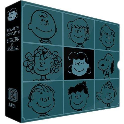 Peanuts Completo 1959 a 1962 - Caixa Especial. 2 Volumes