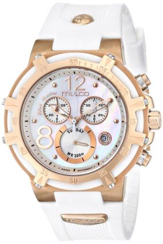 MULCO Unisex MW1-29903-013 Analog Display Swiss Quartz White Watch