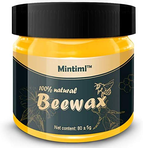 100% Natural Wood Seasoning Beewax Complete Furniture Solution Care Beeswax 85g