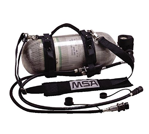 MSA 10161130 G1 RescueAire II Portable Air-Supply System with Cylinder, Quick-Fill Emergency Breathing System, 4500 psig -  MSA Safety