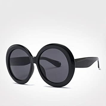 QZHE Gafas de sol Gafas Redondas Gafas De Sol para Mujer De ...