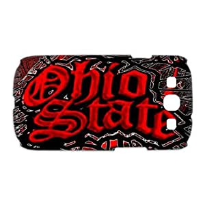 CTSLR Anti-Skid Samsung Galaxy S3 I9300 Back Case Proctor - NCAA Ohio State University(OSU) Buckeyes (16.01) - 15